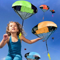 same as image outdoor cloths - Children s Educational Toys Play Hand Outdoor Mini Throwing Toy Kids Parachute