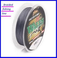Wholesale Strong Fishing Wire - Braided fishing PE line anti bite braided wire Gray 4 series of 100 meters strong horse fish line gas boutique out221