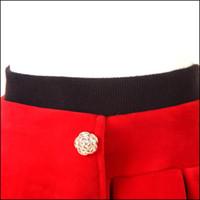 Wholesale Pants Render Warm Winter - Winter Warm Girl fur leggings Skirt Children's pants Culotte Render Pants Kid Child Legging Trousers Pantskirt