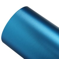 "Wholesale Vinly Wrap - Exterior Accessories Stickers 60*152cm DIY PVC Vinly Wrap Roll Blue Car Stickers with Air Bubble Free Car Accessories 24""x60"""