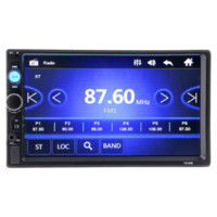 2 Din Auto Radio Player 7 '' HD Touch Screen Bluetooth Stereo FM MP3MP4 MP5 Audio Video NEIN DVD USB SD Auto Elektronik Autoradio