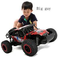rc autos nitro großhandel-Nicht für den Straßenverkehr Fahrzeuge 2.4G 4WD Hochgeschwindigkeits-SUV RC Auto-Dämpfungs-Spielzeug-Automotor-Antrieb Fernauto-Modell für Kinder