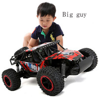 Wholesale Rc Model Off Road - Wholesale- Off-road Vehicles 2.4G 4WD High Speed SUV RC Car Damping Toy Car Motors Drive Remote Car Model For Children