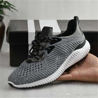 outdoor bounce - 2017 Top Quality Alpha Bounce Discount New Color Boost Running Shoes Kanye West For Men Women Non Slip Sneaker Shoes Eur36 With Box