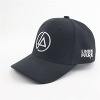 Wholesale Rock Hats - Lincoln Linkin Park Rock Snapback Caps Hip Hop Polo Baseball Cap Adjustable Sun Hats For Men Women