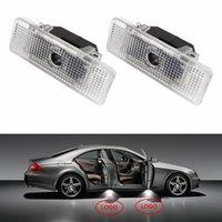 ingrosso ha condotto le luci del proiettore del portello-Per BMW X5 E53 E39 Z8 2 Pz / lotto Lampada per portiera a LED Luce di benvenuto Cortesia Laser Proiettore Logo Luce fantasma 3D ombra