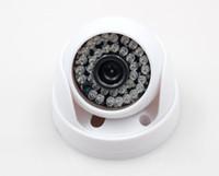 ingrosso telecamera dvr 1tb-Spedizione gratuita IR-CUT 1200TVL 6mm CCTV Telecamera dome Esterna Impermeabile LED Night Vision Sorveglianza Sicurezza Telecamera a infrarossi a colori