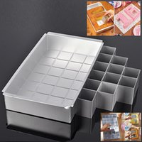 Wholesale Numbered Cake Tins - Wholesale- Mac New 11Inch Alphabet Letters Number Tin Aluminum Cake Pan Fondant Banking Bread Dishes Pans For New Year Cake Easier Maker