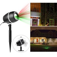 Wholesale Christmas Decoration Wholesalers Usa - QQ Egg Shape Red&Green Galaxy Laser Shower Motion LED Laser Light Waterproof Christmas Projector Holiday Twinkling Lights Garden Decoration