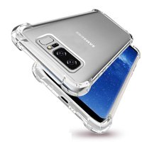 Wholesale Galaxy Note Silicon Case - Luxury shockproof phone back case for iPhone X 8 7 6 6s Plus for Samsung Galaxy note 8 S8 Plus silicon transparent case