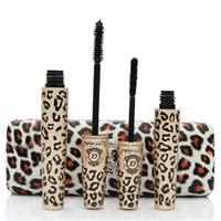 ingrosso scatole alfa-Migliore Qualità Amore Alpha 3D Mascara Impermeabile Spessa Mascara Ciglia Fibra + Gel eyeliner 2 pz set con la Scatola Al Minuta Opp Bag Trasporto Libero del DHL