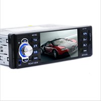 Wholesale Voice Reader Player - Wholesale- 4.1inch Screen Car Stereo DVD FM Radio MP3 MP5 HD Player Bluetooth Phone with USB SD MMC Port Car Electronics 1 DIN