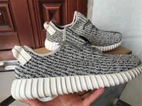 botas de tortuga kanye west al por mayor-2016 Kanye West Boots Turtle Dove Shoes Kanye Boots Hombres Zapatillas de deporte Athletic Outdoor Shoes Turtle Dove Pirate Black Shoes