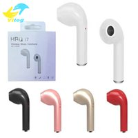 Wholesale Wholesale Single Roses - Original HBQ I7 Mini Bluetooth Earbud Single Wireless Invisible Headphones Headset With Mic bluetooth Earphone for Iphone Android