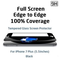 Wholesale Curve Body - Tempered Glass screen Protector for iphone 6 7 plus samsung s8 S7 Edge 3D full body Curved Cover glass film