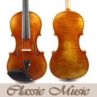Wholesale European Spruce - Wholesale-Powerful sound,Antique style Varnish,No1284.Stradivarius 1715 Cremonese Copy Master Violin,European Spruce
