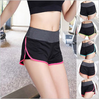 Wholesale Women Ladies Sports Shorts Workout Yoga Running Fitness Biking Cycling Training Shorts Quick Dry Colors