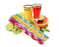 Wholesale Use Straws - Reusable Silicone Smoothie Straws For Healthy Teeth. Eco BPA-Free Silicone use for Drinking Smoothies, Shakes, Juice, Soda