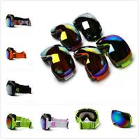 Wholesale Double Lens Snowboard Ski Goggles - New SPOSUNE Unisex Double Lens UV400 Anti-fog Spherical Ski Snowboard Adult Skiing Glasses Goggles Outsport Free Shipping