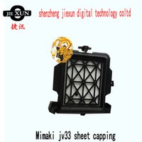 Wholesale Mimaki Jv5 Printer - top quality dx5 printhead sheet capping cap top for mimaki jv33 jv5 mutoh roland allwin digital printer