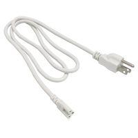 entegre tüp gücü toptan satış-Ücretsiz kargo T5 T8 bağlantı teli Güç kabloları standart ABD fişi ile T5 T8 için entegre led tüpler 3 Prong 150 cm Kablo
