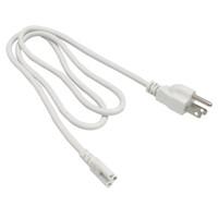 cabos de alimentação led venda por atacado-Frete grátis T5 T8 cabo de conexão de cabos de Alimentação com padrão EUA plug para T5 T8 tubos de led integrados 3 Prong 150 cm Cabo