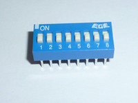 micro botón impermeable al por mayor-INTERRUPTOR DIP EDS107SZ