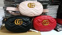 Wholesale Men Bags Small - 2014NEW AAA men's shoulder luxury g bag designer Cross Body Satchel women handbag small pouch beige canvas Waist Bags C #6254