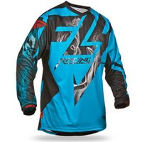 Wholesale Atv Shirt - 2018 bike Motocicleta de motocross DH MX downhill bike long sleeve riding gear ATV Team cycling racing Jersey Off-road moto cycle shi