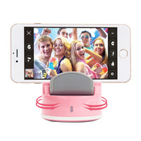 Wholesale Face Detection - Smart Selfie Robot Bluetooth 4.0 360Degree Rotate Face Detection tracked Self-Timer Picture Video For Android iphone HTC Samsung