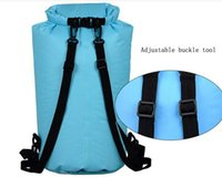 Wholesale Hunting Clothing Wholesale - Portable outdoor products waterproof bag clothes bag drifting swimming upstream Travel Backpack outdoor beach bag wholesale