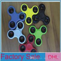 Wholesale Fidget Plush - Fidget Spinner Plush Toy Plastic Handspinner Fidget Fingertips Spiral Triangle Hand Spinner EDC fidget Rollver