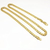Wholesale 6mm Stainless Snake Chain - New Fashion Chain 24inch Necklace And 7.5inch Bracelet For Men Women Long Necklace 6MM Wide Stainless Steel Link Chain Men Necklaces