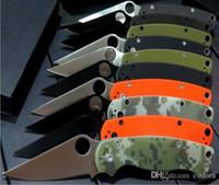 Wholesale Gift Samples - 8 models SPider C81 back lock camping knife Hunting Folding Pocket Knife Xmas gift KNIFE 1pcs sample freeshipping