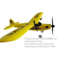 Wholesale Model Airplane Radio - Wholesale- EPP material rc glider   radio control airplane model airplane Sea gull RTF 2CH HL803 rc airplane