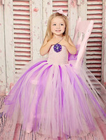 Wholesale New Girl S Pageant Dresses - The new foreign children 's dress in the big children 61 performances dress pants skirt girls dress show Rachel Allen pageant