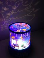 luzes do feriado da estrela da noite venda por atacado-Incrível Estrela Mestre LED Sky Cosmos Projetor Espacial Crianças Cama Night Light Mood Lamp Presente de natal feriado