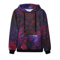 Wholesale Vivid Paintings - Fashion 3d print classic galaxy painting hoodie all kinds of pic vivid paint boys girls cool sweatshirt high quality smooth material cloth