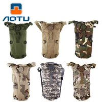 Wholesale Military Backpack Water - AOTU New Hot Selling Sport Water Bags Bottles Cage Hydration Backpack Jugs Bottles Camping Camelback Bicycle Military Kettle 058