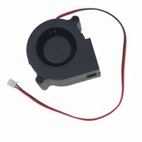 Wholesale 12 V Computer Fan - Wholesale- Gdstime 1 piece 60x28mm Cooling Cooler Brushless Exhaust Blower Fan DC 12 V 0.17A 2 Wire 60MM 2Pin 6028S Sleeve-breaving New