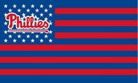 Wholesale Phillies Flag - Philadelphia Phillies USA Stars and Stripes Flag 150CM*90CM 3*5FT Polyester Custom Banner Sports Flag P2