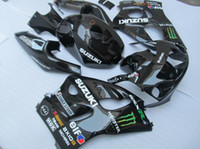 Wholesale Suzuki Gsxr Srad - New Fairing For SUZUKI GSXR600 GSXR750 SRAD 96-00 GSXR 600 750 GSX R600 R750 96 97 98 99 00 1996 1997 1998 1999 2000 Body black+Tank cover