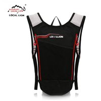 Wholesale Tactical Assault Backpack Hydration - Wholesale- LOCALLION 3L Portable Hydration Packs Tactical Bike Bicycle Bladder Bag Assault Backpack Camping Hiking Pouch Bag