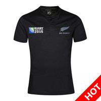 Wholesale Ruby Flash - New Zealand Ruby Jersey New All Blacks RWC Rugby shirt New Zealand Rugby World Cup 16 17 thailand quality Rugby Jerseys S-3XL