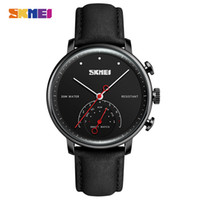 Wholesale Acrylic Call - SKMEI Fashion Smart Watch Men Luxury Brand Women Auto-Time Call Message Reminder Quartz Wristwatches Pedometer Sports Watches H8