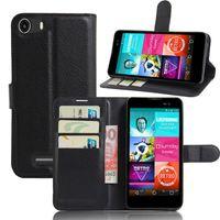 Wholesale Blu Dash Cover - For BLU Dash M Case Luxury PU Leather Back Cover Case For BLU Dash M D030L D030U Case Flip Protective Phone Cover Bag Skin