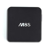 M8S Android TV Box Amlogic S812 Quad Core Media Player 2GB 8GB suporte Dual band WiFi Google Player Smart IPTV OTH113