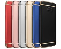 Wholesale Electroplated Iphone Case - Shockproof Case for iphone 6 6s 7 plus 5s Samsung Galaxy S8 S8+ S7 S6 Edge Electroplated Hard Back PC Shell Protective Cover