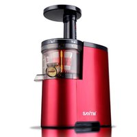 ingrosso succo di frutta-New Germany Brand Slowly Juicer Electric Fruit Vegetable Estrattore di succo di agrumi 100% originale Succo di succo di frutta