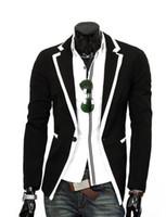 Wholesale chiffon blazers - 2017 NEW Hot sale Men Casual Blazer Coat Jacket Striped men's fashion classic fashion Slim men outerwear suits Free Shipping